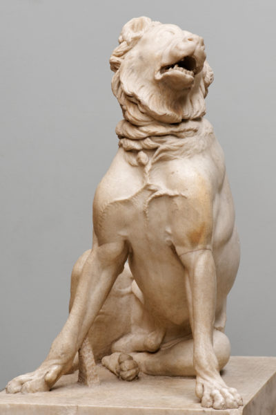 Jennings dog (statue of Molossian hound) in British Museum in London.