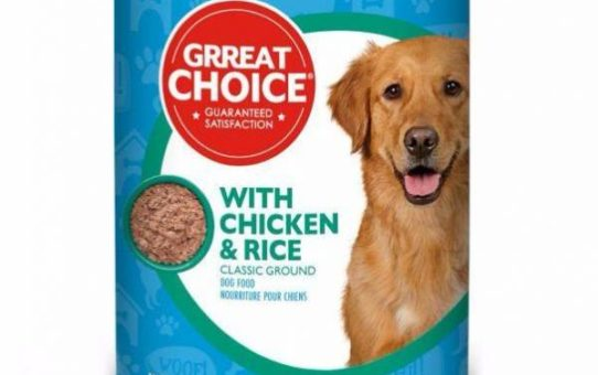 Grreat Choice With Chicken and Rice Canned Food (Recalled)